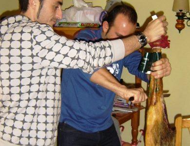 Almería 2 Madrid 4, pero el jamón nos lo comemos igual.