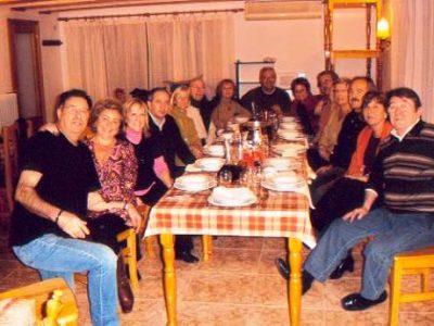 Casa rual vallferosa llar de foc bolets barbacoa nadal