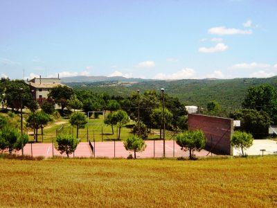 Vista exterior casa rural. Natura meravellosa.